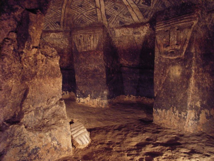 Huge Subterranean Pre-Columbian Shaft Tombs In Tierradentro, Colombia