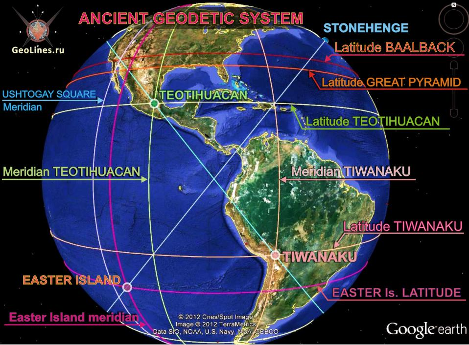 ancient geodetic system