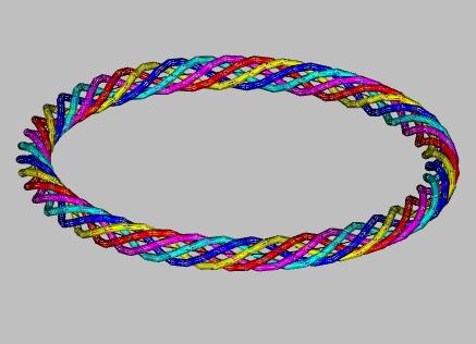 5 toroidal coils