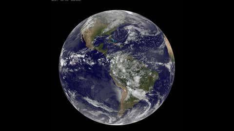 Planet Earth (NASA/NOAA/GOES Project)