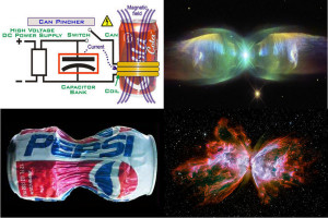 z pinch nebula space butterfly plasma Electric Universe theory