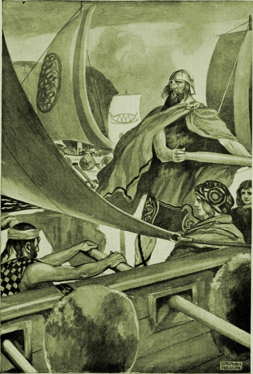 The arrival of the Milesians
