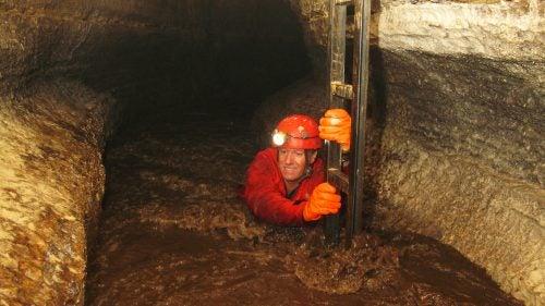 Ackerman in Bat River Cave in 2007