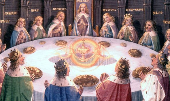 The Holy Grail is discussed in the BIble