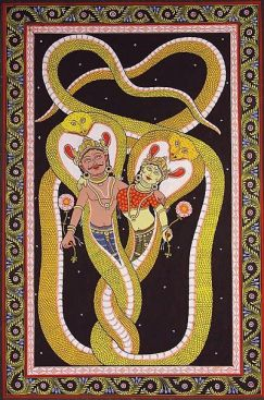 Ngaraja with wife