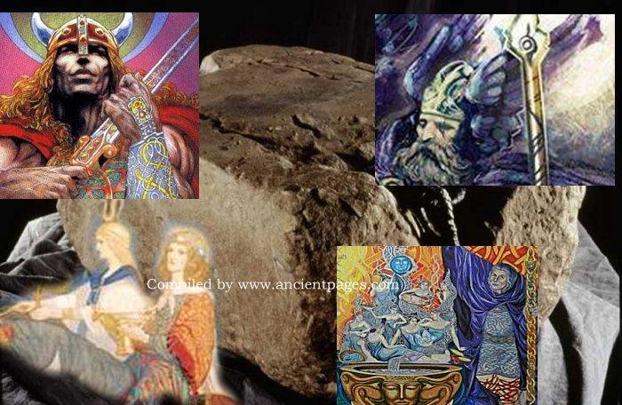 Four Magical Treasures Of Tuatha De Danann